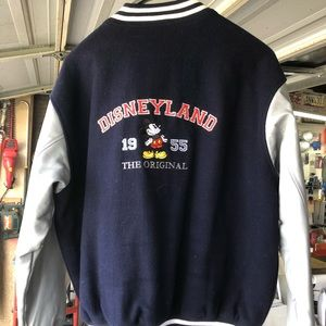 Anniversary edition Disney letterman's jacket